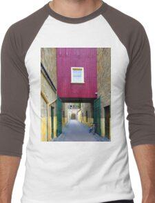 Lane way, and Bicycle Men's Baseball ¾ T-Shirt