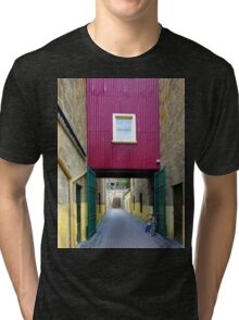 Lane way, and Bicycle Tri-blend T-Shirt