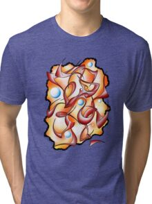 Abstract digital art - Selerion V3 Tri-blend T-Shirt