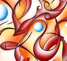 Abstract digital art - Selerion V3 Sticker