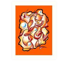 Abstract digital art - Selerion V3 Art Print
