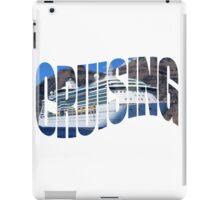 Cruising iPad Case/Skin