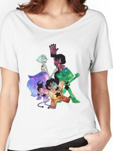 Crystal Gems - Galaxy Edition Women's Relaxed Fit T-Shirt