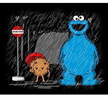 My neighbor cookie monster Photographic Print