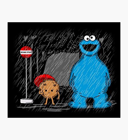 My neighbor cookie monster Photographic Print