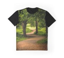The Path to the Light can be Winding Graphic T-Shirt