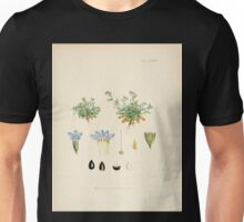The botany of the Antarctic voyage of H M  discovery ships Erebus and Terror in the Years 1839 1843 Joseph Dalton Hooker V1 029 Unisex T-Shirt