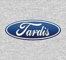 Doctor Who TARDIS Ford Logo Mashup by erikaandmonty