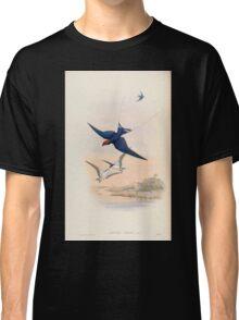 Birds of Asia John Gould 1883 V1 V7 026 Hirundo Filifera Classic T-Shirt