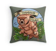 Tardigrade Tough Crest Throw Pillow
