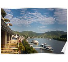 River Rhine at Boppard, Germany Poster