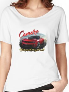 Camaro 2016 - Burnout or Get Out Women's Relaxed Fit T-Shirt