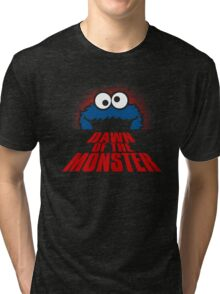 Dawn of the monster  Tri-blend T-Shirt