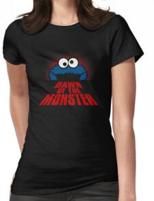 Dawn of the monster  Womens Fitted T-Shirt
