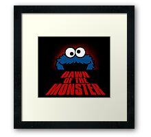 Dawn of the monster  Framed Print