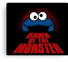 Dawn of the monster  Canvas Print