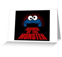 Dawn of the monster  Greeting Card