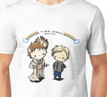 doctor and master time lords Unisex T-Shirt