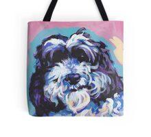 Cockapoo Dog Bright colorful pop dog art Tote Bag