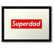 Superdad Framed Print