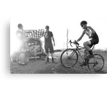 Australian Summer Cyclocross   Canvas Print