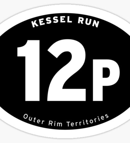 Kessel Run Champion! Sticker