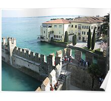 Aerial Sirmione View  Poster
