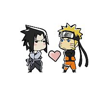 Naruto And Sasuke Chibi by scoorpean