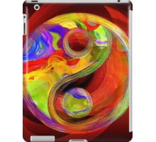 Yin Yang Colorful Serenity iPad Case/Skin