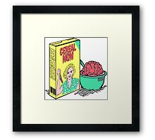 Cereal Mom Framed Print