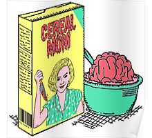 Cereal Mom Poster