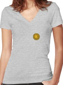 Heirs of the Sun Women's Fitted V-Neck T-Shirt