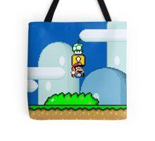 Mario Bros. 1Up Apple Tote Bag
