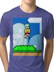 Mario Bros. 1Up Apple Tri-blend T-Shirt