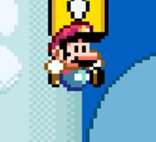 Mario Bros. 1Up Apple Sticker