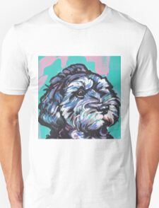 Cockapoo Dog Bright colorful pop dog art T-Shirt
