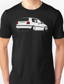 MKIII Gti Graphic-no text-White ink T-Shirt