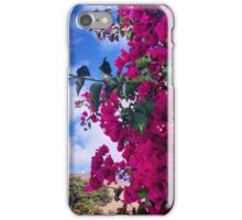 Vibrant pink flowers iPhone Case/Skin