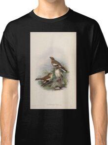 Birds of Asia John Gould 1883 V1 V7 301 Montifringilla Adamsi Classic T-Shirt