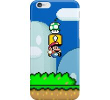 Mario Bros. 1Up Apple iPhone Case/Skin
