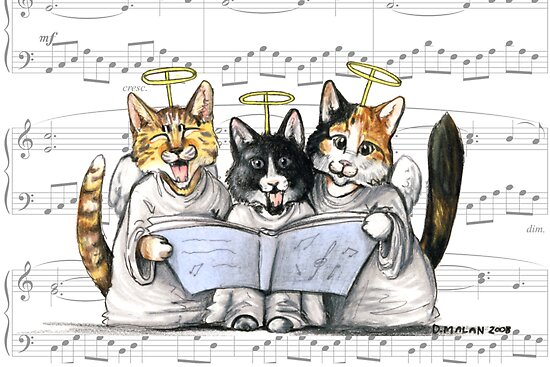 carols by kittens by Danelle Malan