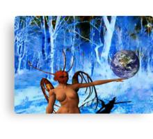 Surreal World Canvas Print