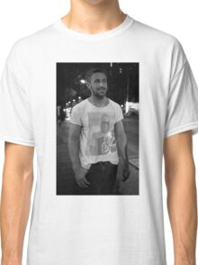Ryan Gosling wearing a shirt of Macauley Culkin wearing a shirt of Ryan Gosling wearing a shirt of Macauley Culkin Classic T-Shirt