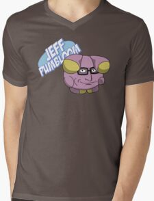 Jeff Pumbloom Mens V-Neck T-Shirt