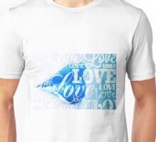 Love Lips blue Unisex T-Shirt