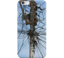 Mess of Wires iPhone Case/Skin