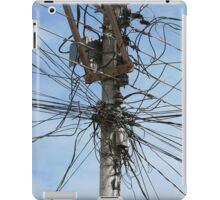 Mess of Wires iPad Case/Skin