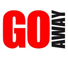 Cool Go Away Logo Design by Style-O-Mat