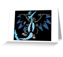 Mega Charizard X Greeting Card