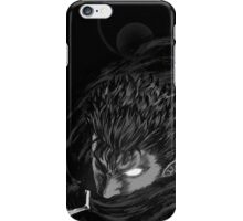 Berserk - Guts Glowing Eye Large w/o Brand iPhone Case/Skin